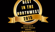 """NW Fitness Magazines """"Best in the NW""""  contest."""