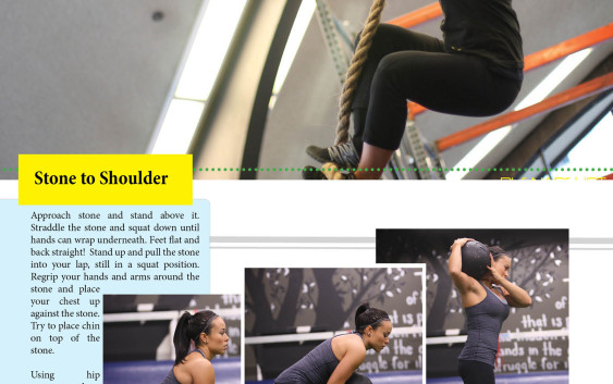 Cross Training Workout - functional Fitness Written by Rob Sax Model - Jen turnbull