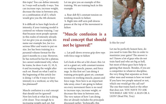NW Fitness Magazine Train with Intensity by Turk Fickling