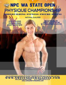 NPC WA State Open, Physique, Bodybuilding, Fitness, Figure, Bikini Championships