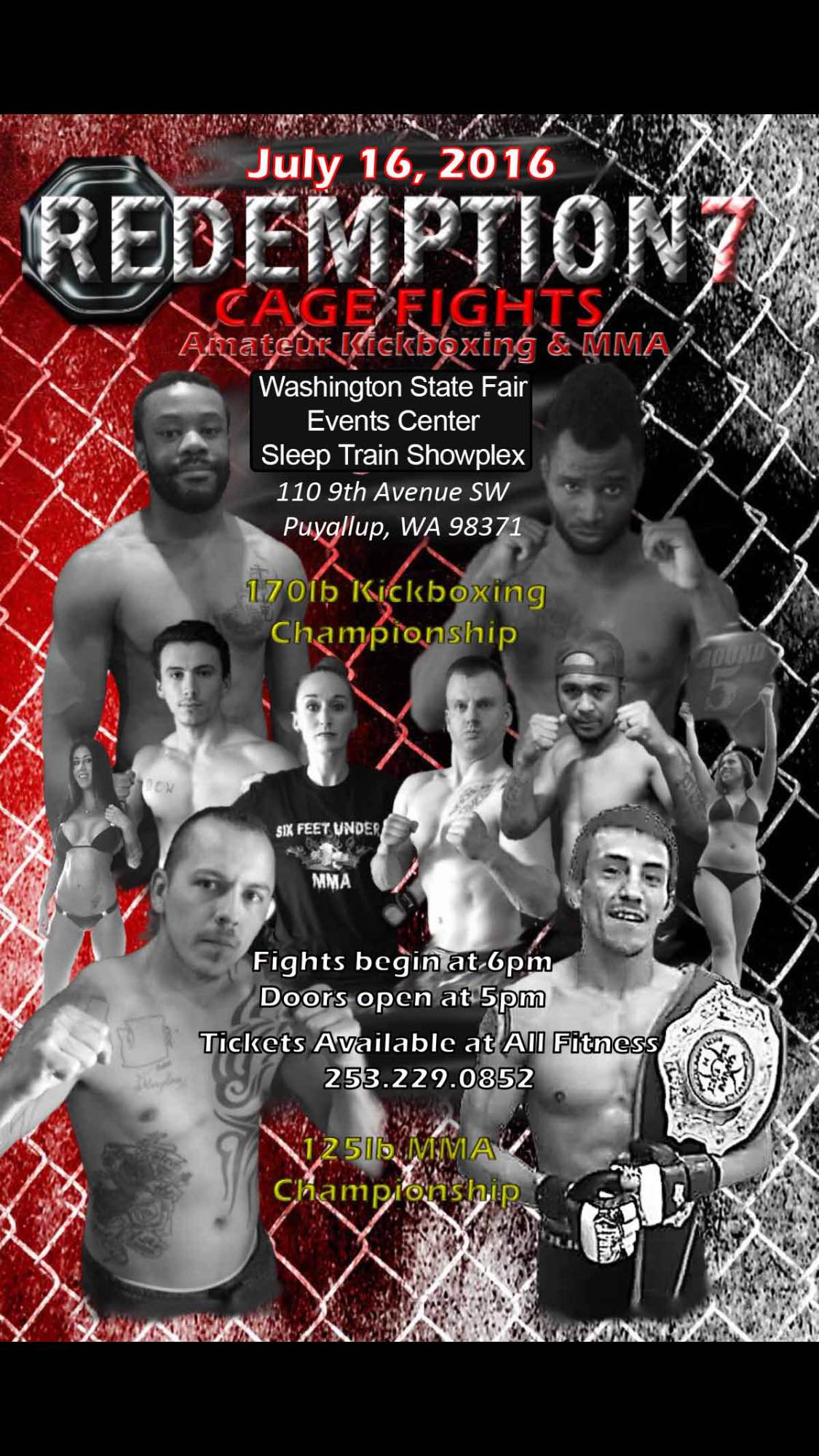 The Redemption 7 Ameteur MMA Fights